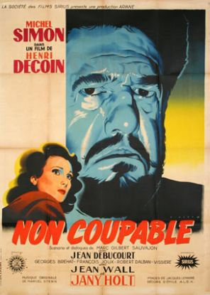 1947. NON COUPABLE