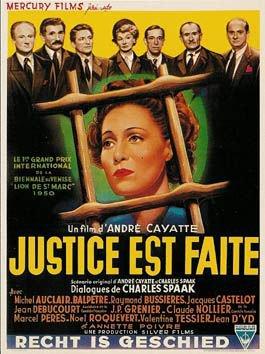 1950. JUSTICE EST FAITE