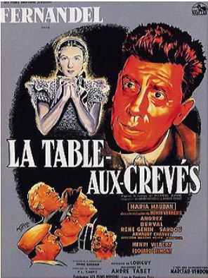 1952. LA TABLE AUX CREVES