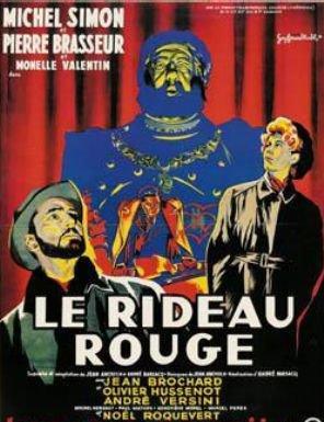 1952. LE RIDEAU ROUGE