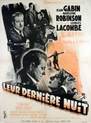 1953. LEUR DERNIERE NUIT