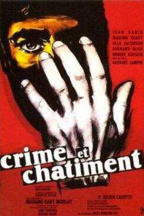 1956. CRIME ET CHATIMENT