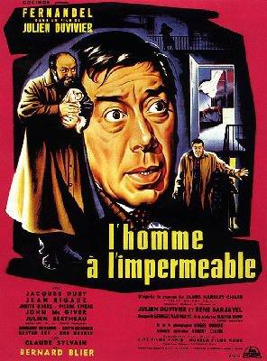 1957. L'HOMME A L'IMPERMEABLE