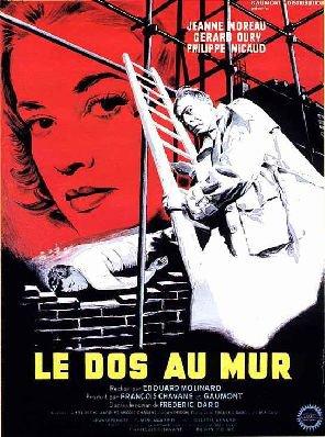 1958. LE DOS AU MUR