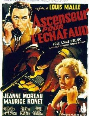 1958. ASCENSEUR POUR L'ECHAFAUD