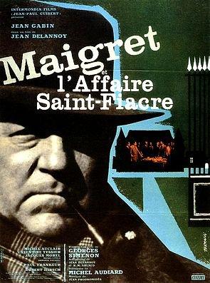 1959. MAIGRET ET L'AFFAIRE SAINT FIACRE