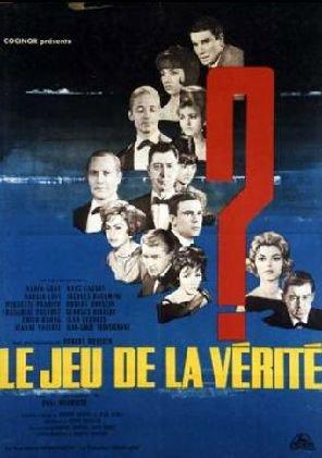 1961. LE JEU DE LA VERITE