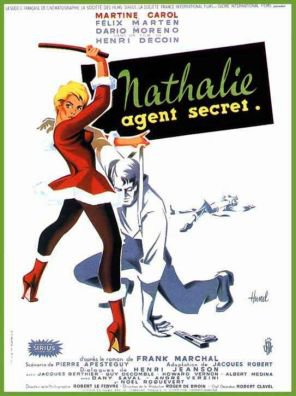 1959. NATHALIE AGENT SECRET