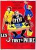 1957. LES TROIS FONT LA PAIRE