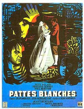 1949. PATTES BLANCHES