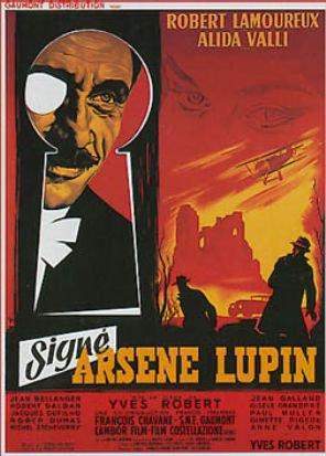 1959. SIGNE ARSENE LUPIN