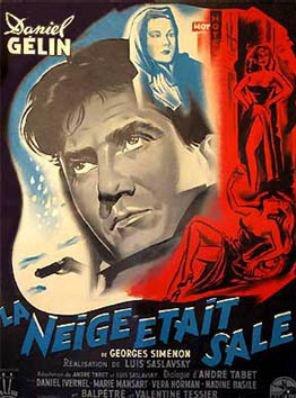 1954. LA NEIGE ETAIT SALE