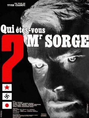 1961. Qui êtes-vous Monsieur Sorge ?