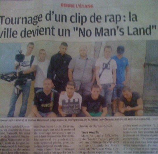 Article de la Provence pour notre clip