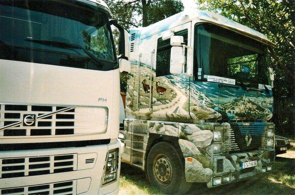 133...camions décorés au championnat de france de camions cross de Baud 2006................