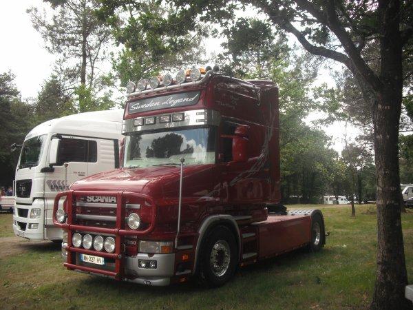 1126.....camion cross - camions décorés et auto caravane (Baud 56) 2011   SCANIA.....1126