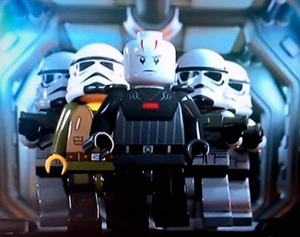 Lego Star wars : Premier visuel de L'Inquisitor ?