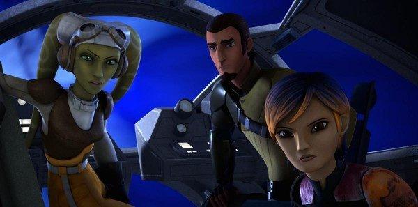 Star Wars Rebels pourrait bien teaser  Star Wars 7 ?
