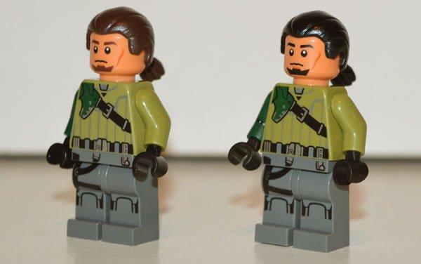 LEGO Star Wars : La figurine de Kanan Jarrus modifiée