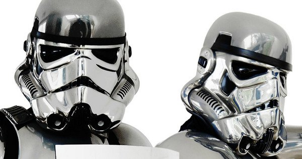 Star Wars 7 : Le chrome trooper se dévoile !