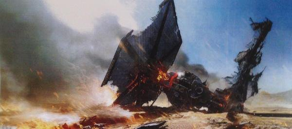 Star Wars 7 : la fuite de concept arts…(la suite)