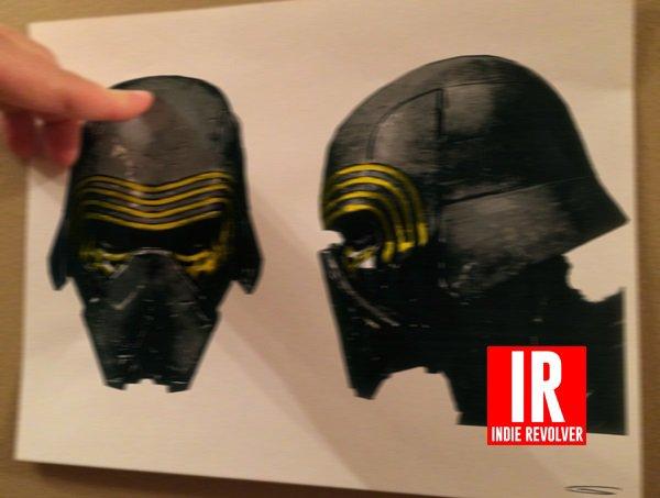 Star Wars 7 : Des images de Kylo Ren !