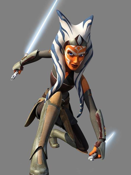 Star Wars Rebels : Ashoka arrive elle aussi dans la série animée !