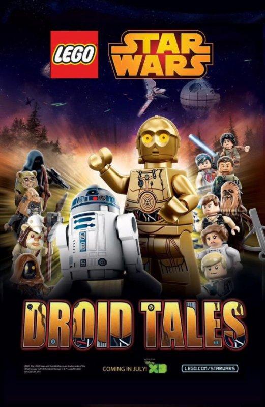 Lego Star Wars : La première affiche de Droid Tales