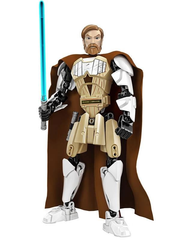 Lego Star Wars : Constraction Figures de Grievous et Obi-Wan