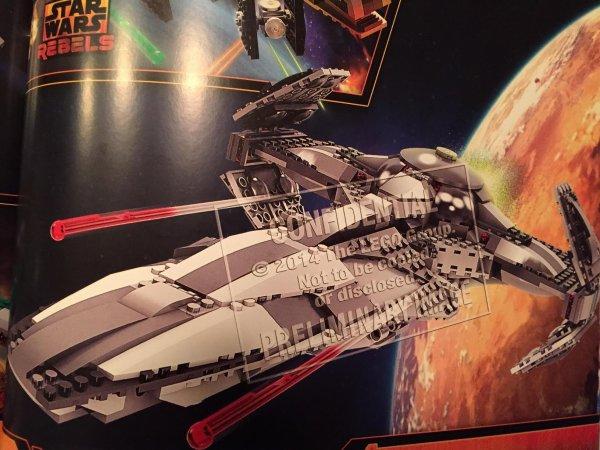 Lego Star Wars : Le nouveau Sith Infiltrator