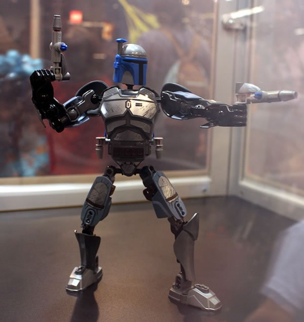 Lego Star Wars : Constraction figures de Jango Fett