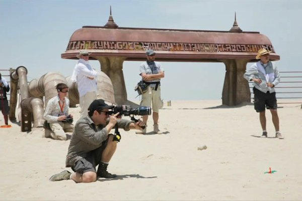 Star Wars 7 :Quelques photos du tournage
