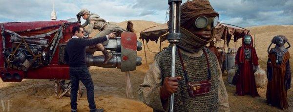 Star Wars 7 : Dans les coulisses du tournage