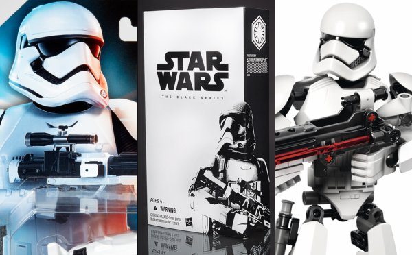 Lego Star Wars : Le nouveau stormtrooper en constraction
