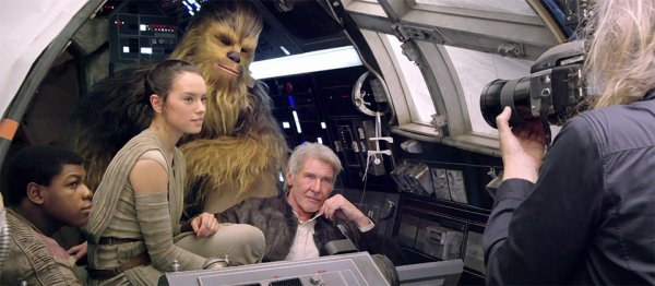 Star Wars 7 : le making of au lieu du trailer