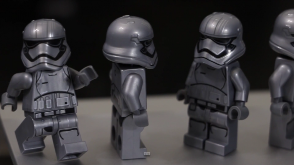 Lego Star Wars :  Captain phasma en gros plan !