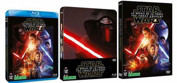 Star Wars 7 est enfin sortie en DVD !