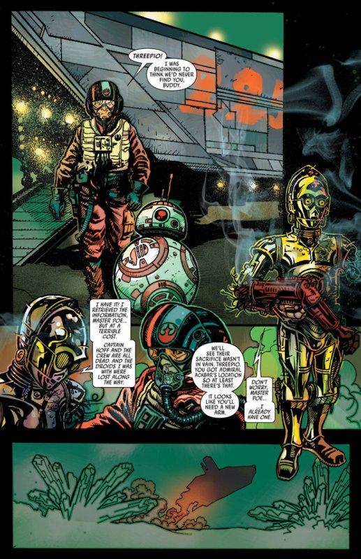 Mais d'où vient le bras rouge de C-3PO ?