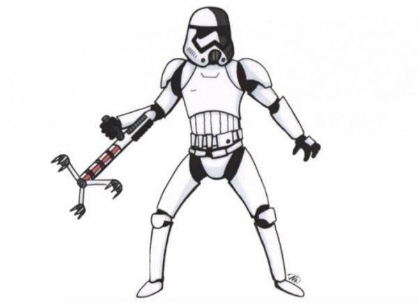 STAR WARS VIII : Un nouveau Stormtrooper ?