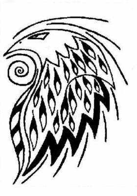 Tatouage faucon l 39 histoire de ma vie - Dessin de faucon ...