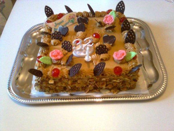 Gâteau 32 ans