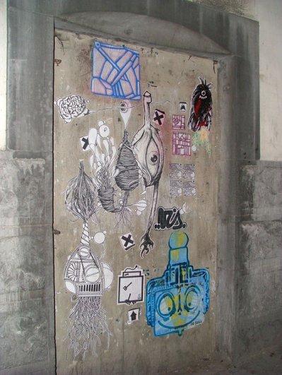 mur a affiche