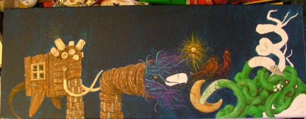 elephant poisson mutant (le créateur de monde)