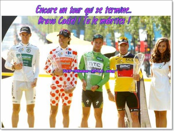 Mes impressions du tour 2011...