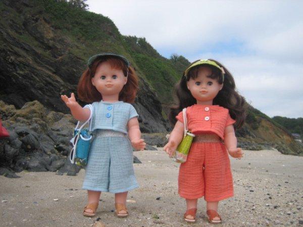 Un matinée à la plage