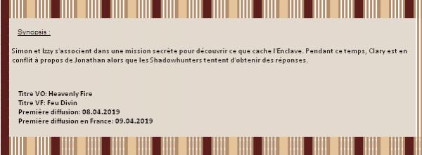 ❝ Saison 3: épisode 17  • Création   • News • Décoration   ❞