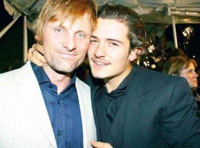Orlando Bloom et Viggo Mortensen