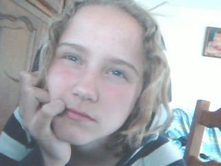 ma fille eugénie 13ans