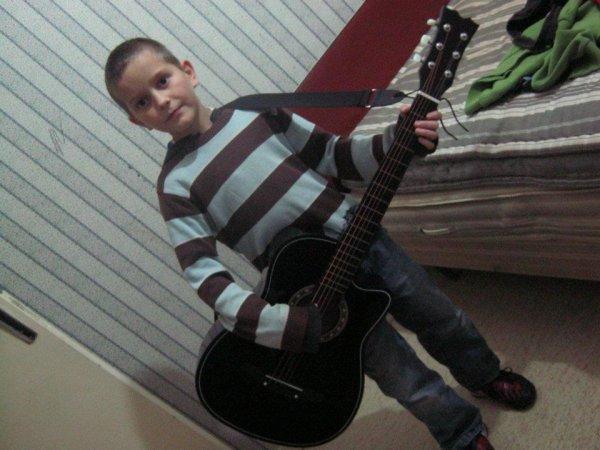 mon fils Marius 9ans