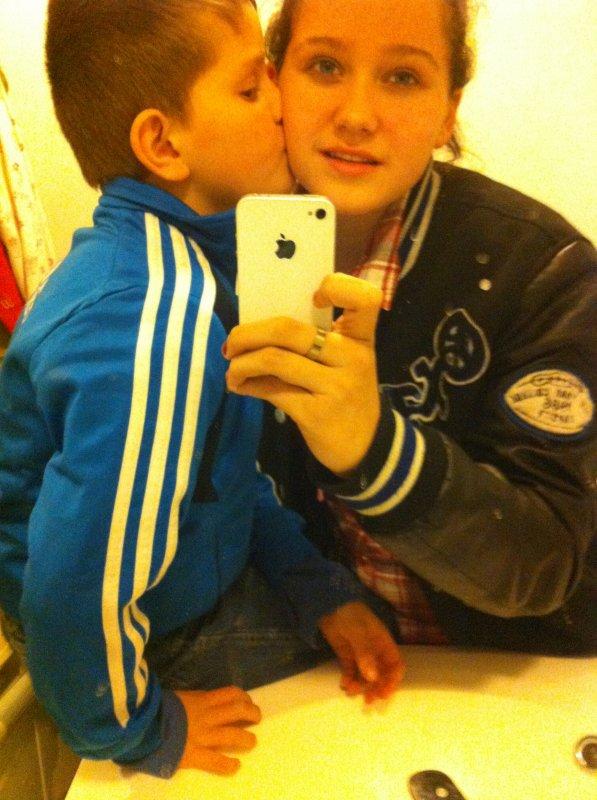 ma fille eugénie et mon fils Marius